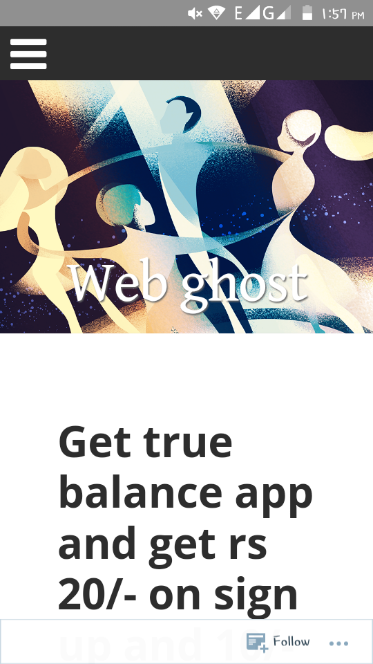 Download web ghost apk for Android – Web ghost